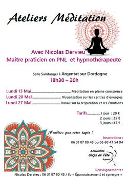 Ateliers meditation
