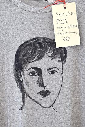 "Johanne Helga Heiberg Johansen: ""Sylvia Plath"" T-shirt (MERCH 020)"