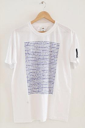 "Martha Hviid: ""Self-Soother"" T-shirt (MERCH 003)"