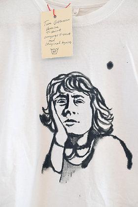 "Johanne Helga Heiberg Johansen: ""Tove Ditlevsen"" T-shirt (MERCH 019)"