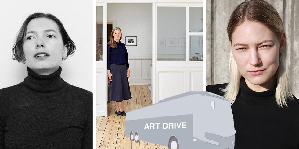 ART DRIVE # 2: JULIE RIIS ANDERSEN, VIKTORIA WENDEL SKOUSEN & NAT BLOCH GREGERSEN
