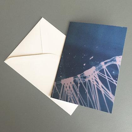 "Dyveke Bredsdorff ""Lesbian Love Story"" kort med kuvert (MERCH 043)"