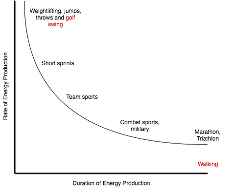 UNDERSTANDING ENERGY SYSTEMS TO IMPROVE GOLF FITNESS