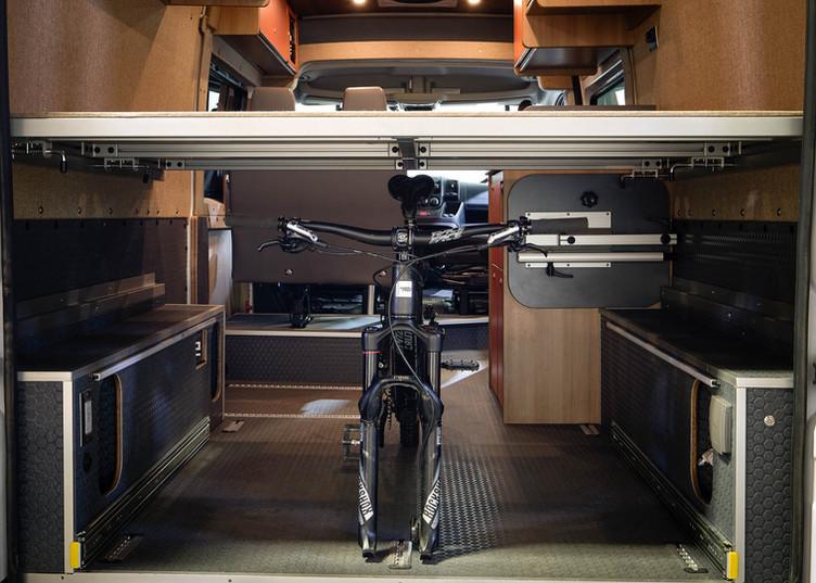 Under Bed Bike Storage