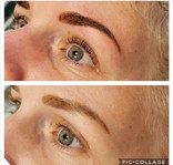 Lash lift and tint with ultimate brows