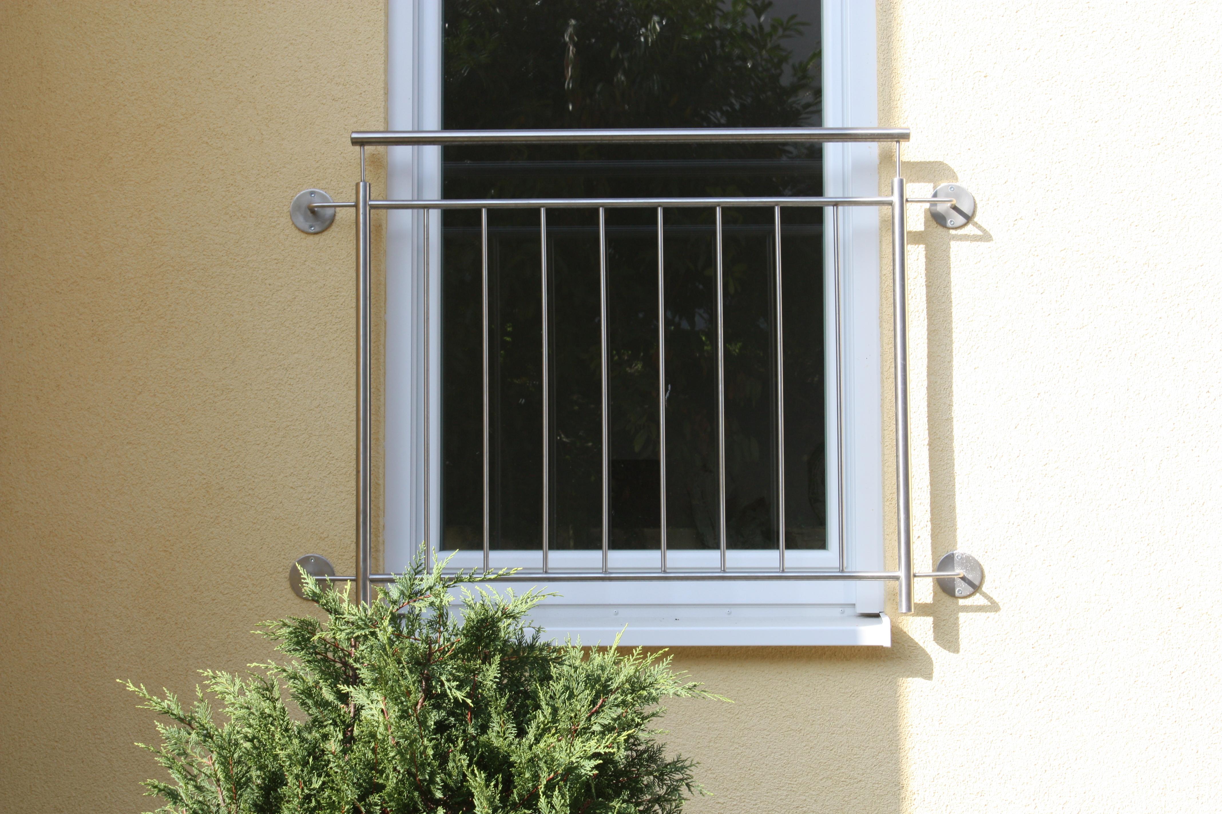 Fenstergitter Edelstahl senkrecht