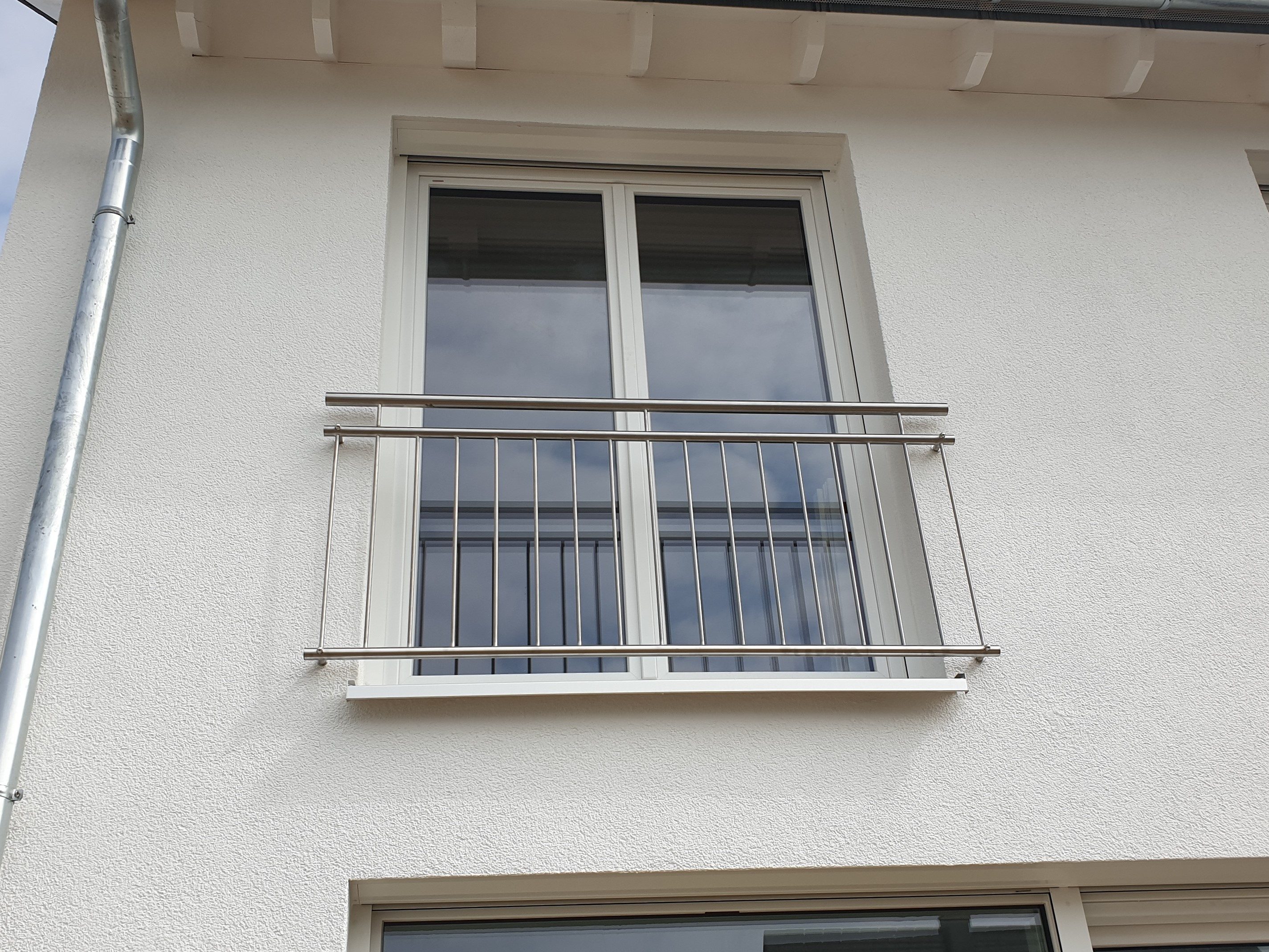 Franz. Balkon Edelstahl
