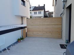 Holz Geländer