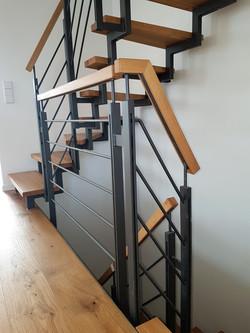 Doppelflach Geländer