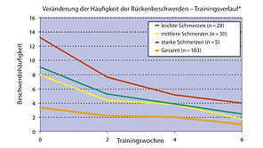 Rückenschmerzen EMS Training