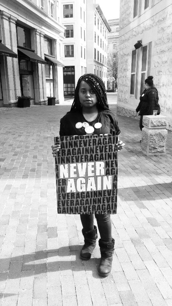 Zaniya Lewis, Founder of Yes She Can Campaign