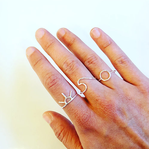 West Coast Stacking Rings