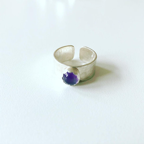 Amethyst | Thick Band