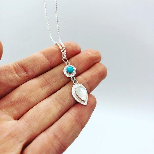 Boho Double Gem Necklace | Pick Your Gems