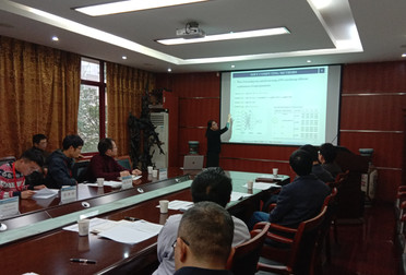 Giving a lecture @ Sichuan University 2018