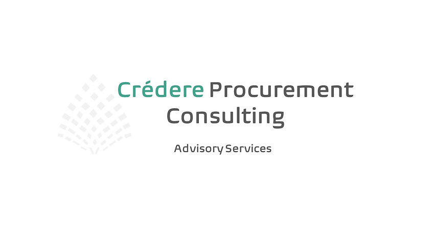 Watermark - Credere Procurement Consulti