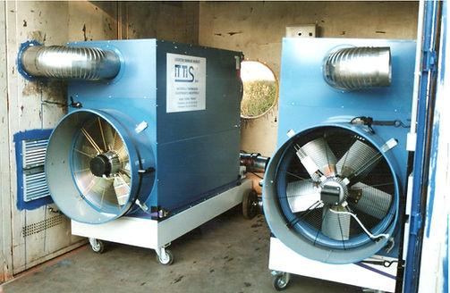ITTIS Générateur air chaud