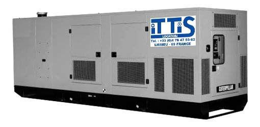 ITTIS Groupe életrogène conteneur