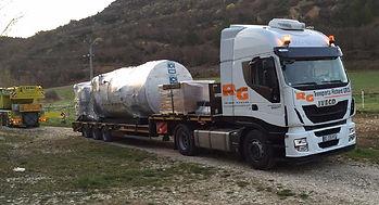 Livraison, installation et mise en serviced'une distillerie de lavande plateau de Valensole (04)
