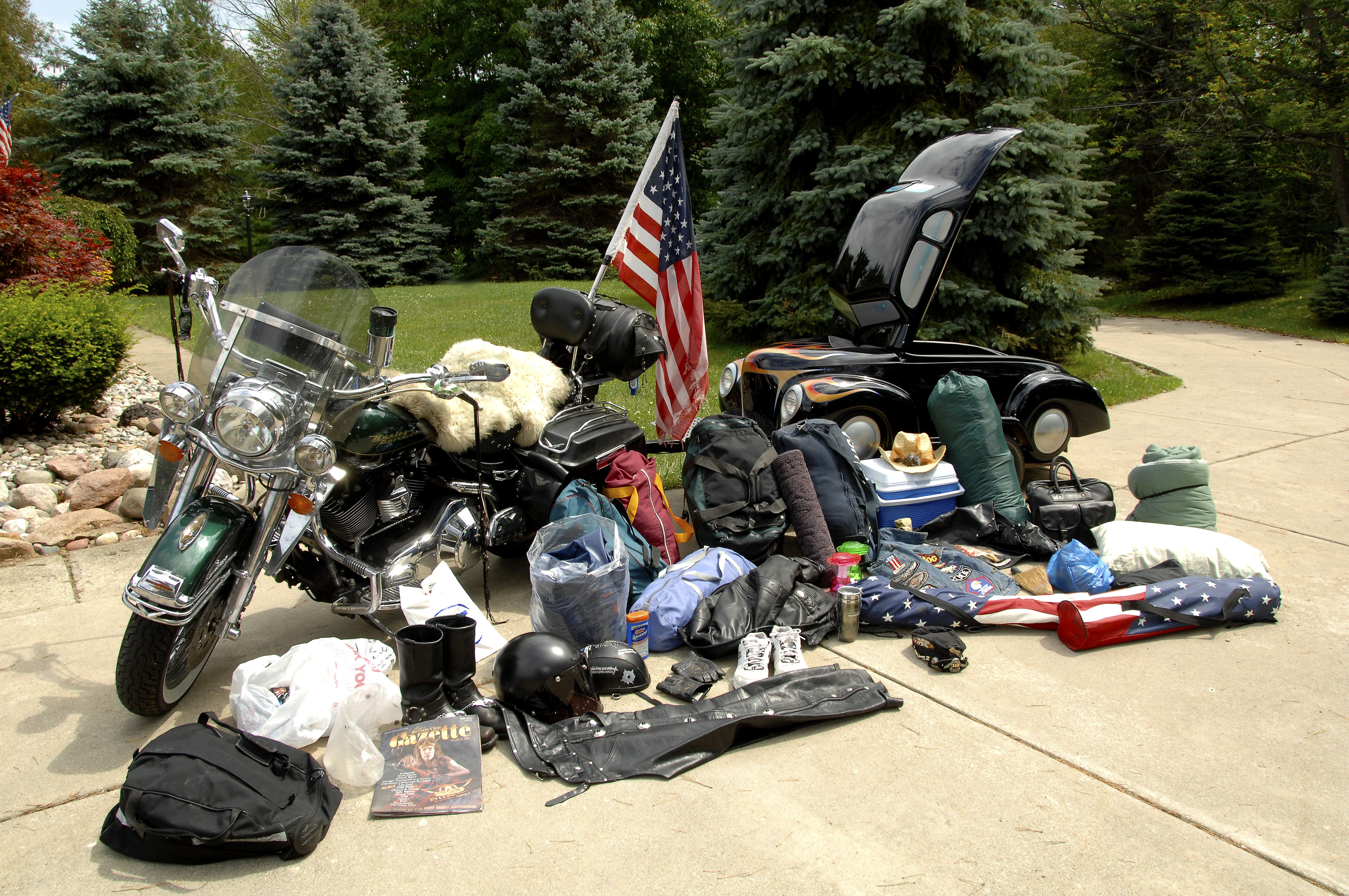 200Lbs. of Luggage taken to Sturgis