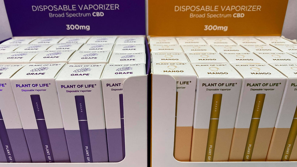 Plant of Life CBD Disposable Vapes 0.5mL