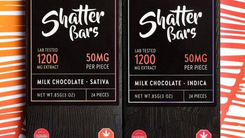 Eu4ia Shatter Bar - 1200mg THC
