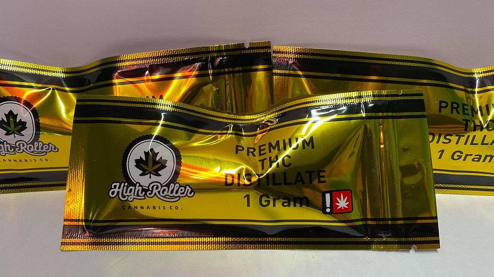 High Roller THC Distillate 1g