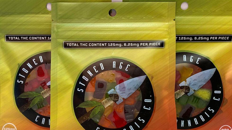 Stoned Age Gummies - 125mg THC