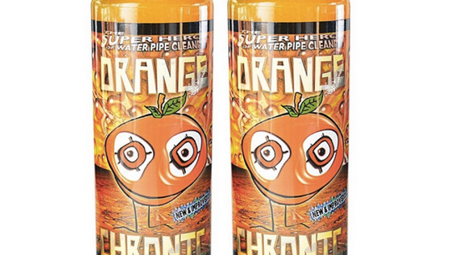 Orange Chronic Bong Cleaner