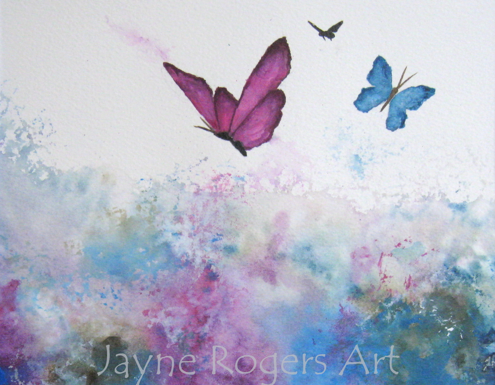 Painted World by Jayne Rogers Art.