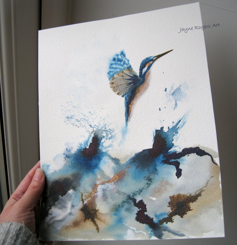 Kingfisher Painting.