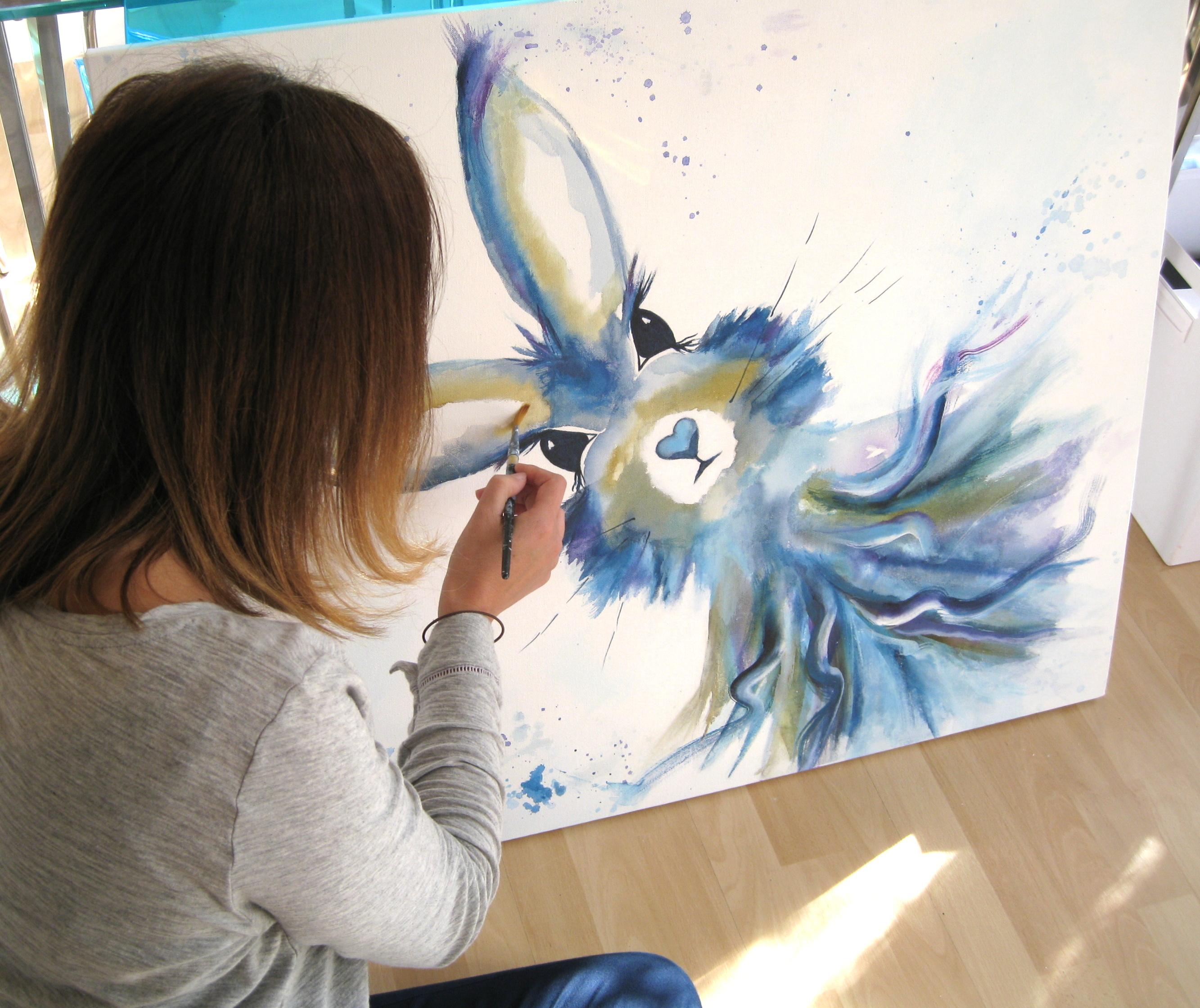 Jayne Rogers Painting.