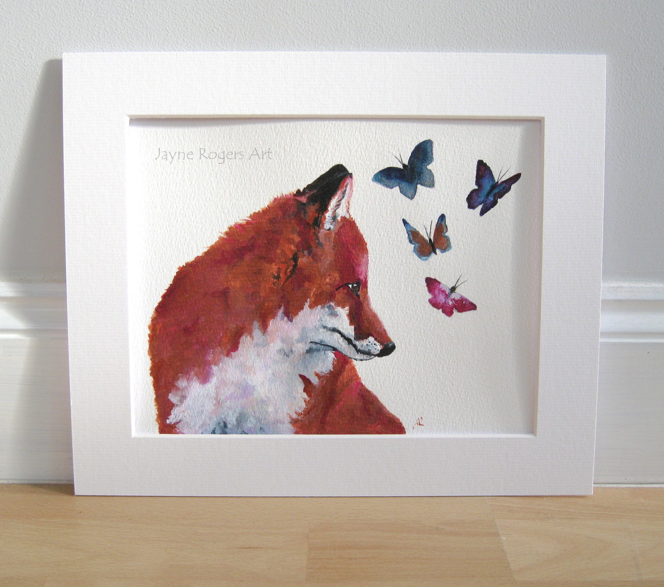 Copper Fox Painting.