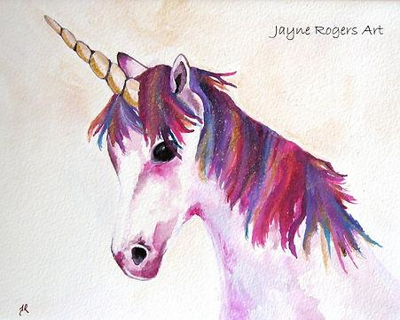 Unicorn Painting.