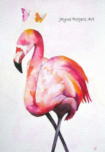 Passion Flamingo Artwork