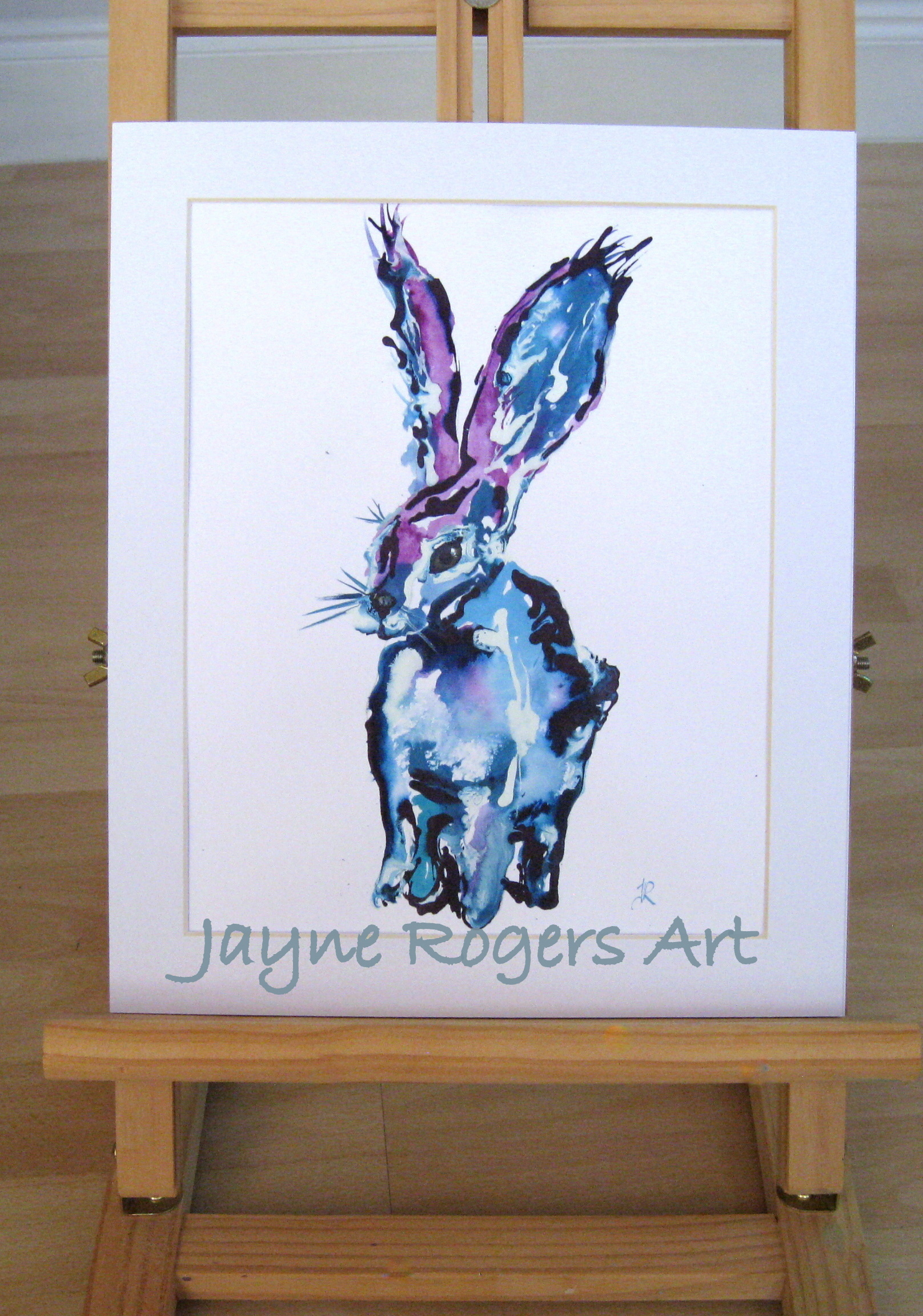 Hare Painting.