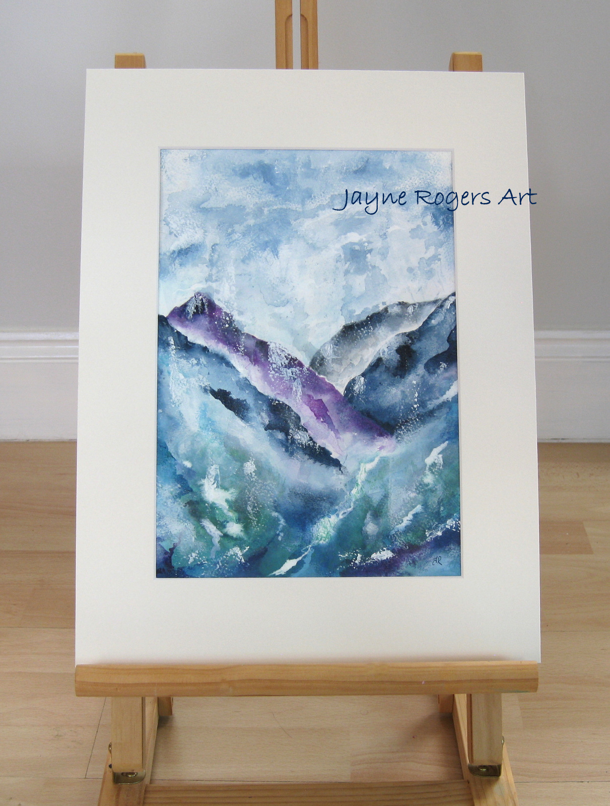 Mountains Painting.