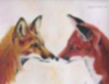 Fox Painting Gallery.