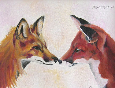 Fox Painting Gallery.