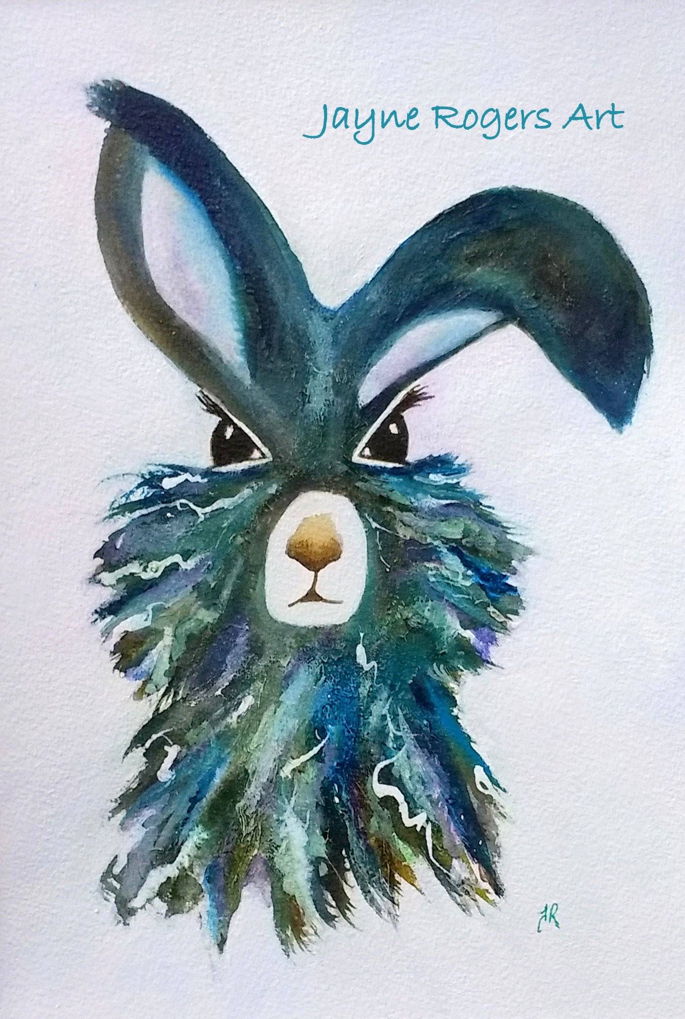 Forest Hare Painting.