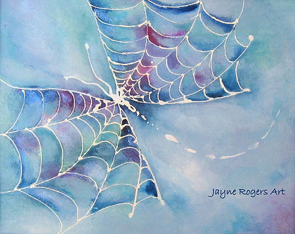 Cobweb Painting.