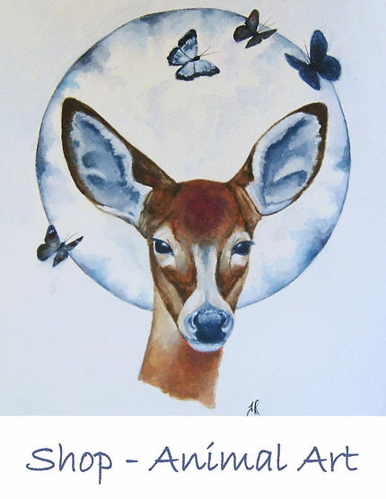 Animal Art Paintings For Sale.