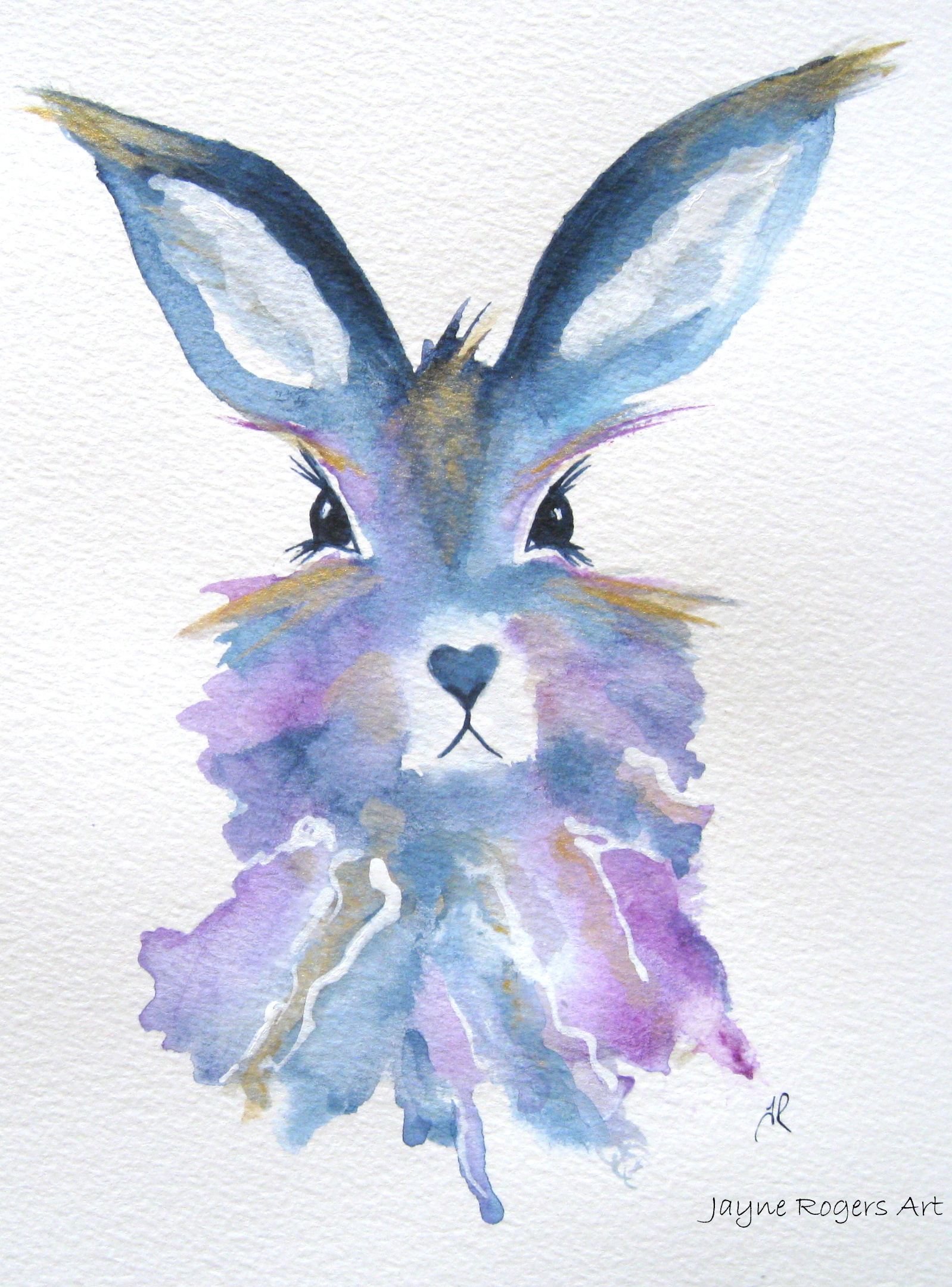 Hope Hare painting.