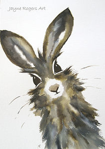 Hare Painting Gallery.