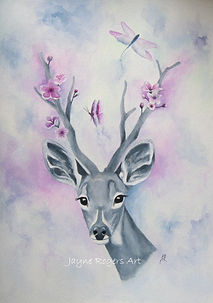 Deer Artwork Gallery.