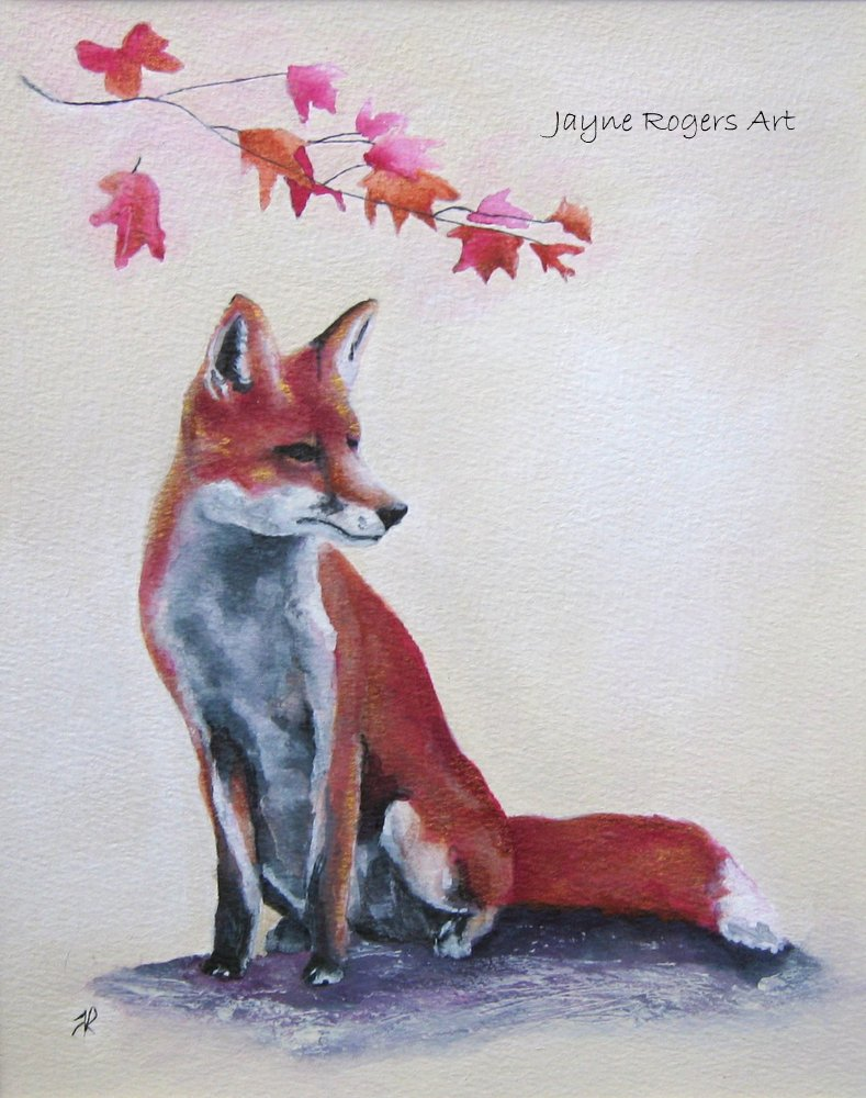 Autumn Fox Art.