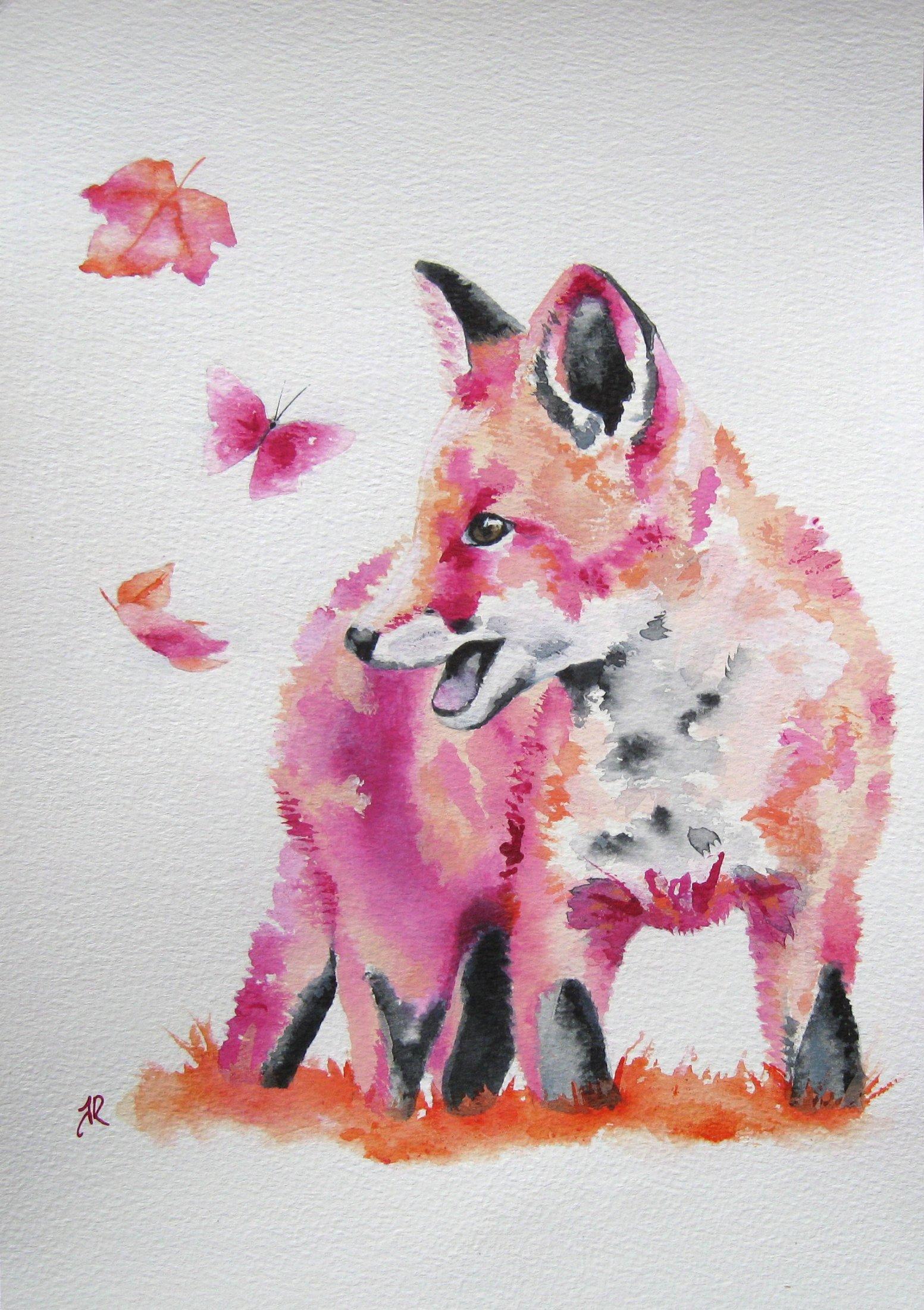 Summer Foxy Frolics