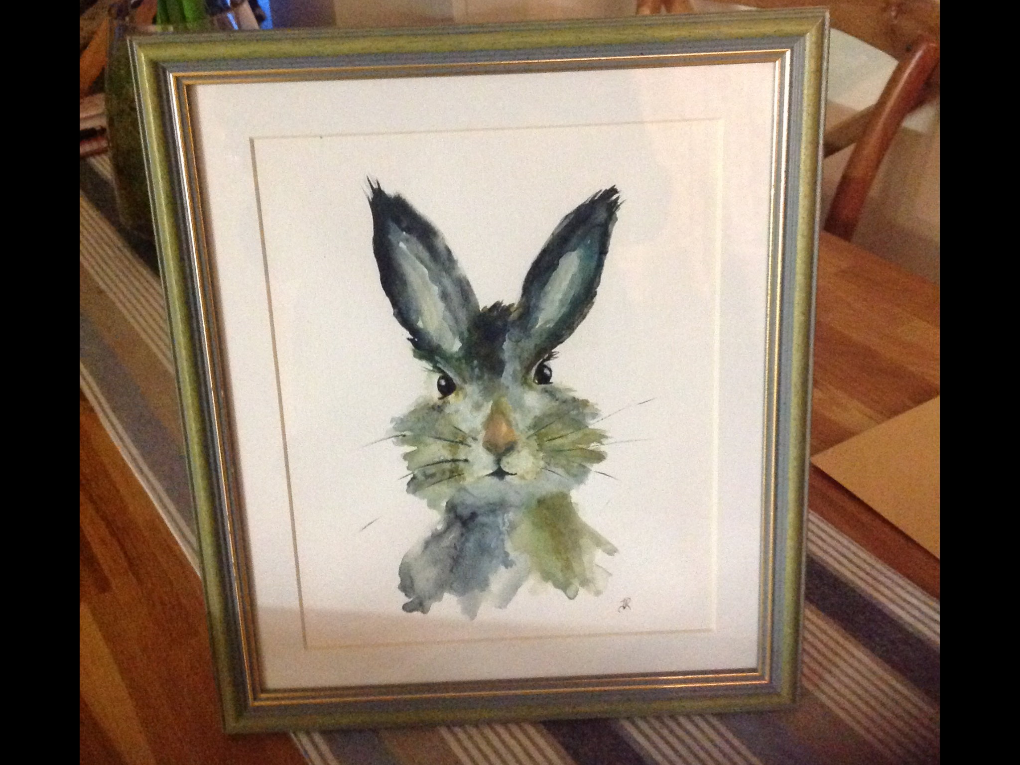 Mr Hare Painting