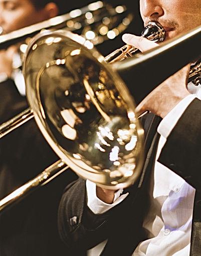 trompetistas de orquesta