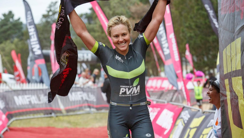 Magda Nieuwoudt SSL South Africa Pro Triathlete